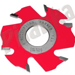 Karned drážkovacia  fréza s predrezmi 1150 125x4