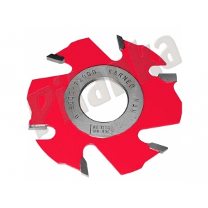 Karned drážkovacia  fréza s predrezmi 1150 125x6