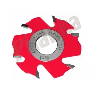 Karned drážkovacia  fréza s predrezmi 1150 125x8