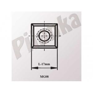 Žiletky 17x17x2 a°35 T03SMG MG06