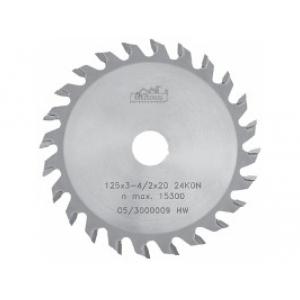 Pílový kotúč SK 93 125x20 3,1-4,2/2,2 24z KON