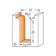 CMT profilová fréza čelná R3,2 D22x31,7 S=12mm HM