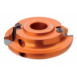 CMT Frézovacia hlava konvex-konkáv - 120x35x30 R10 (možnosť-R10, R12, R15)