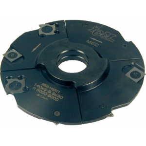 IGM Nastaviteľná drážkovacia fréza D160x4-7,5 d30 HM