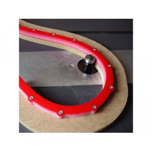 Flexibilná šablóna pre frézovanie oblúkov a kriviek - 1000x18x18mm