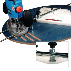 Frézovací prípravok na elipsy a kruhy 3000mm  MultiRadius