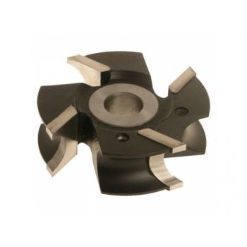 Fréza pólkruhová vydutá R10 120x32x30 4z HSS